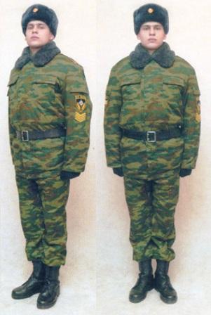 Повседневная форма одежды пожарного 36